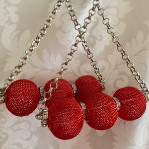 Jewelry - Vintage 90's Earrings Oversize Balls - Pierced